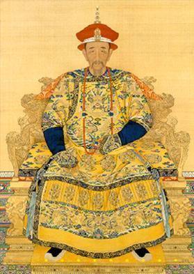 Keizer Kang Xi in zijn latere jaren